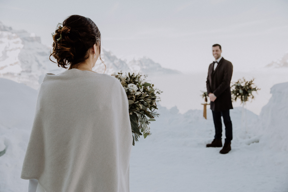 Belle Wedding | Hochzeitsplanung Winterhochzeit Hochzeitszeremonie