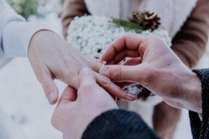 Belle Wedding | Hochzeitsplanung Winterhochzeit Ehringe