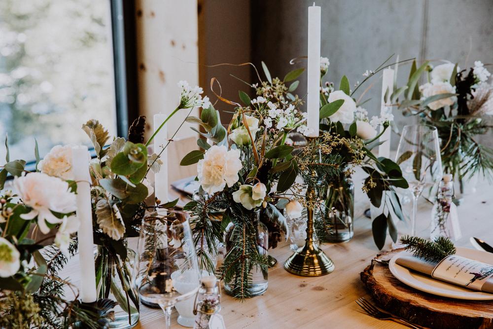 Belle Wedding | Hochzeitsplanung Tischdekoration
