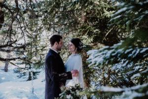 Belle Wedding   Hochzeitsplanung Winterhochzeit Wald