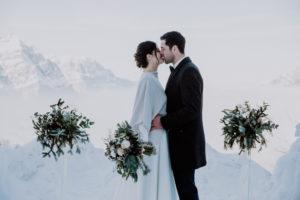 Belle Wedding   Hochzeitsplanung Winterhochzeit Trauung