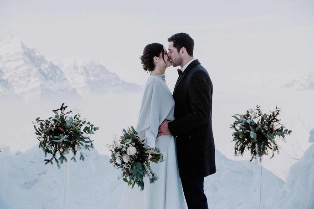 Belle Wedding | Hochzeitsplanung Winterhochzeit Trauung