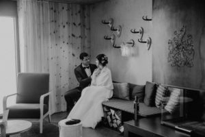 Belle Wedding   Hochzeitsplanung Winterhochzeit Brautpaar